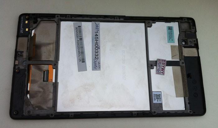 Модуль с рамкой (дисплей + тачскрин в сборе) для Asus Google Nexus 7 K008 me571 k009 ME571KL ME571K